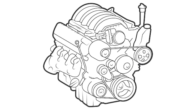 An illustration of an engine.