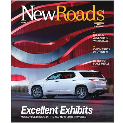 Chevrolet New Roads Magazine Issue 9 Cover