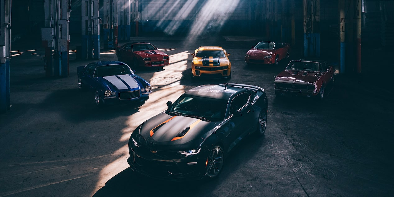 Chevrolet Camaro 50th Anniversary Edition Wallpaper: A Legendary Family