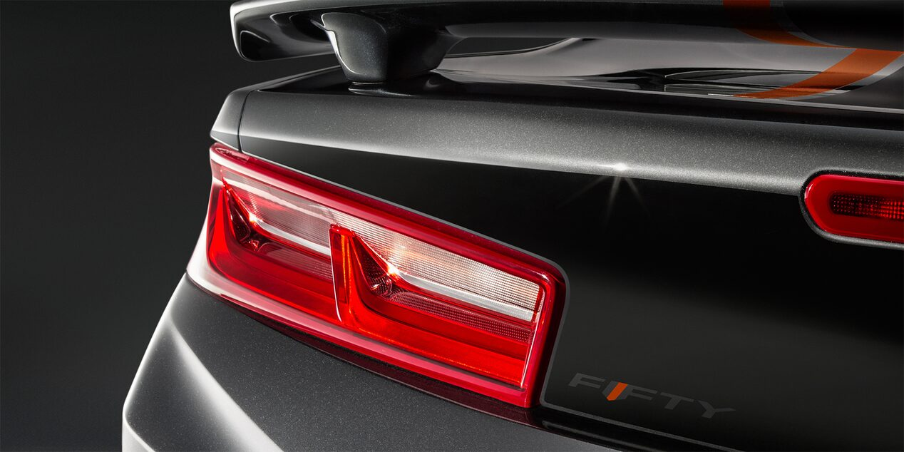 Chevrolet Camaro 50th Anniversary Edition: tail lamp