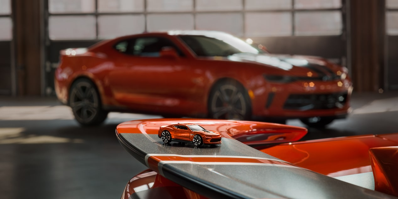 Chevrolet Camaro Hot Wheels Edition: Die Cast Car