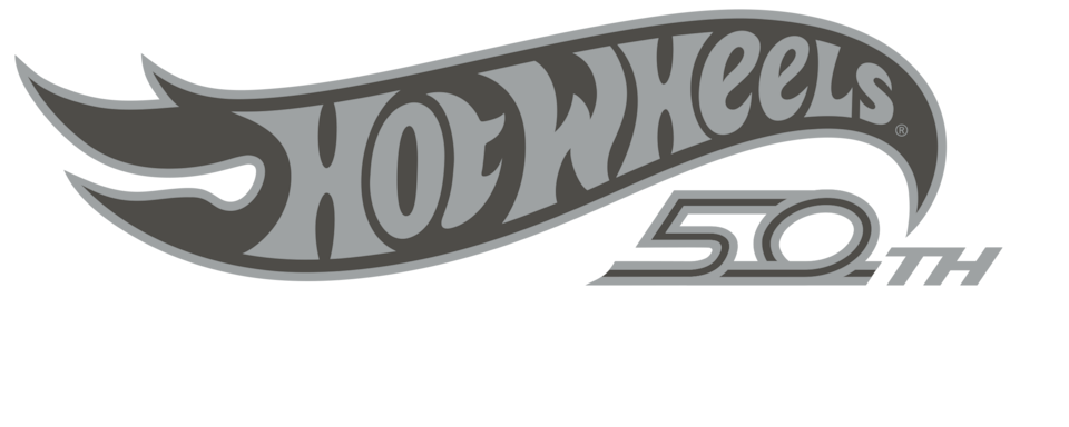 Hot Wheels 50th Edition Logo
