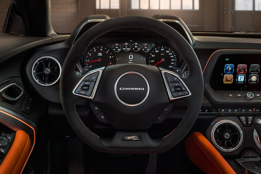 Chevrolet Camaro Hot Wheels Edition: Interior Steering Wheel