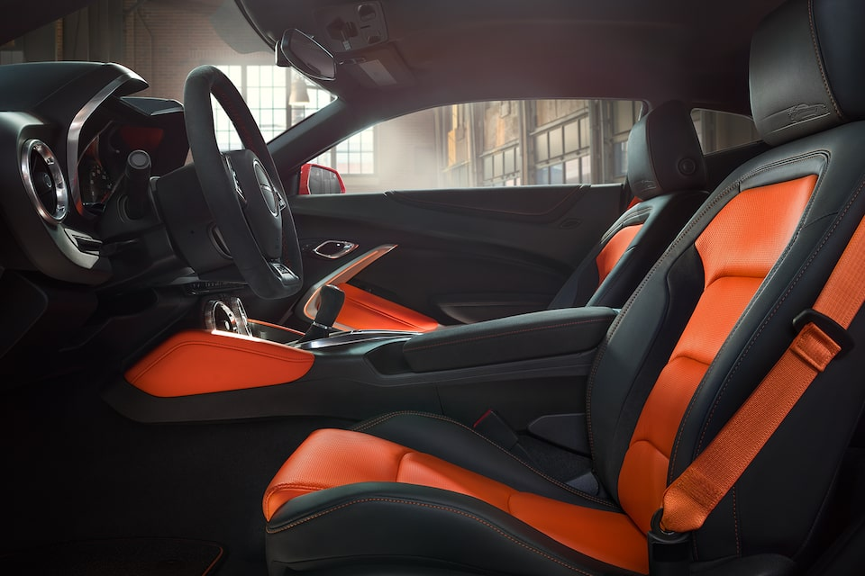 Chevrolet Camaro Hot Wheels Edition: Interior Seats