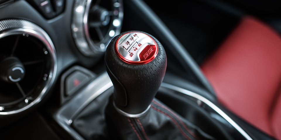 Chevrolet Camaro SS: refined shifting
