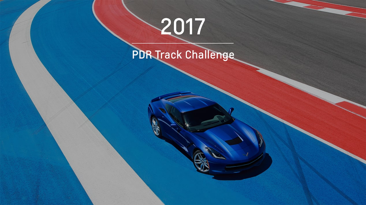 Chevrolet Performance Data Recorder: 2017 PDR Track Challenge