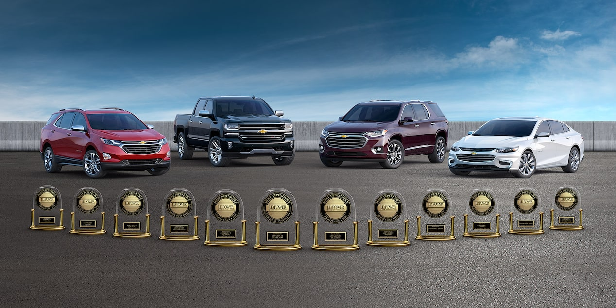 Chevrolet JDP Awards