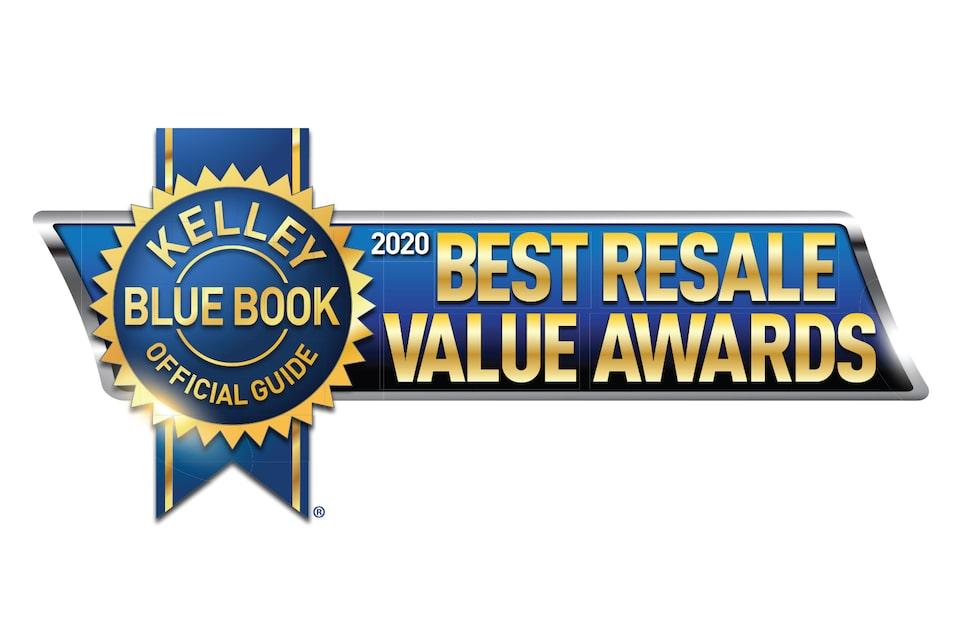 2020 KBB Best Resale Value Award