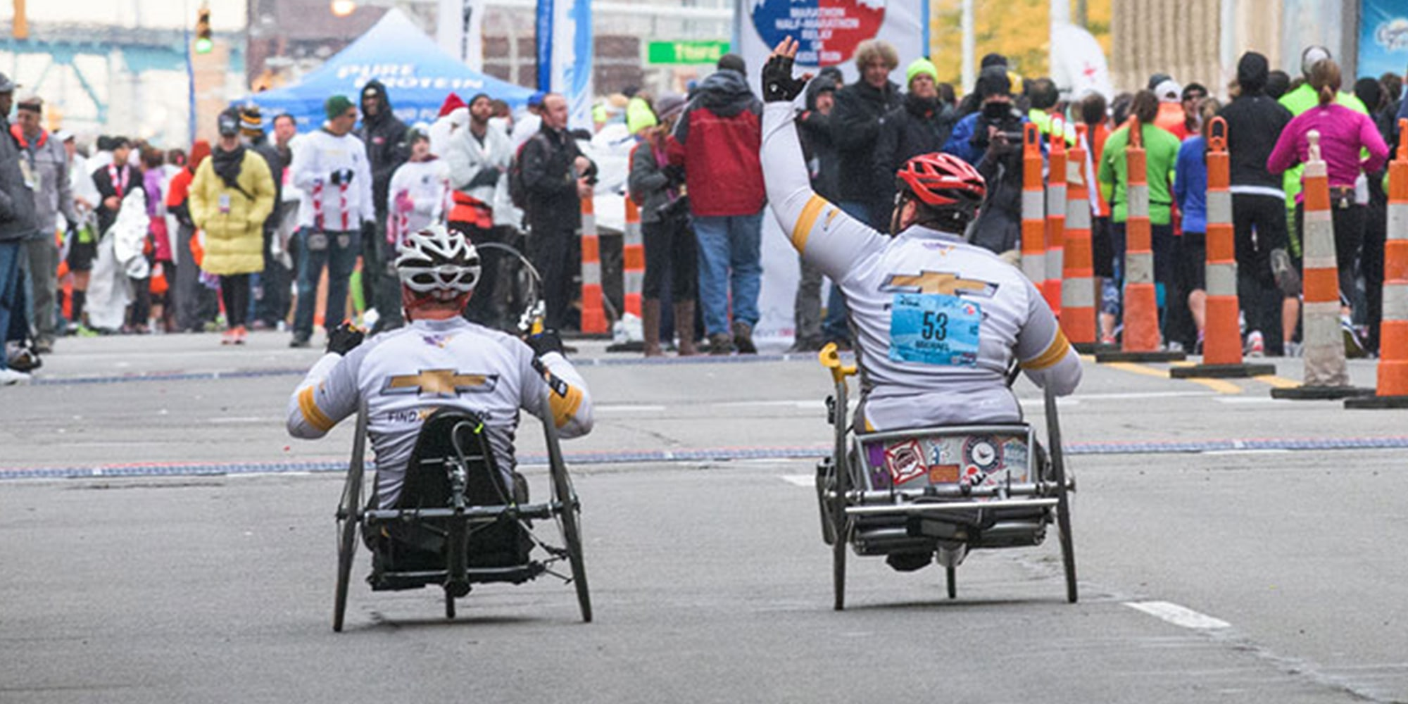 Achilles Freedom Team of Wounded Veterans