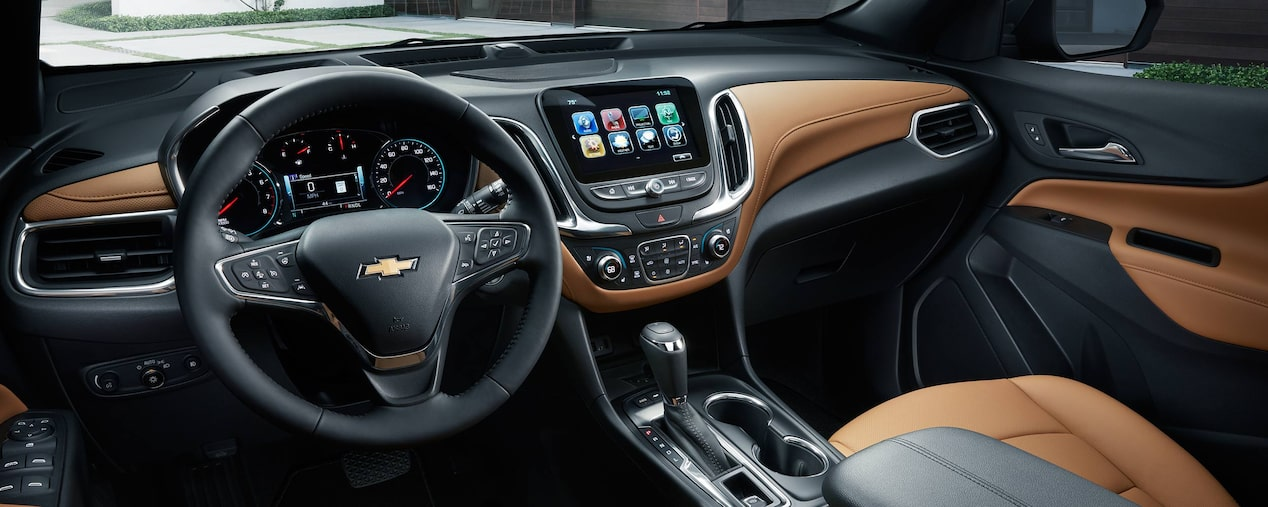 Chevrolet Equinox Diesel: Interior Technology