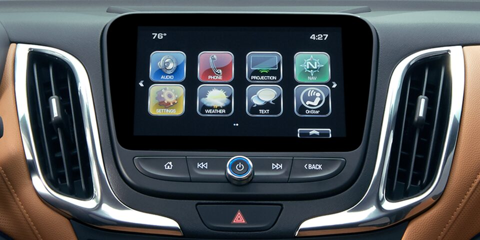 Chevrolet MyLink Display