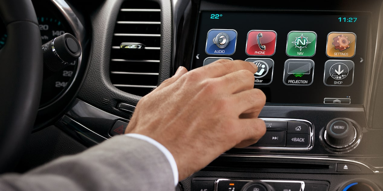 Chevrolet MyLink Features: touch screen display