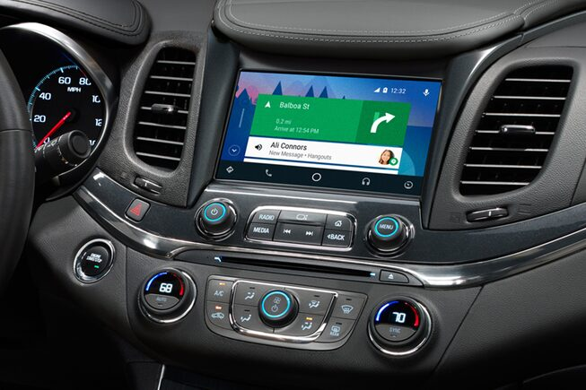 Chevrolet Connectivity: Android Auto Navigation