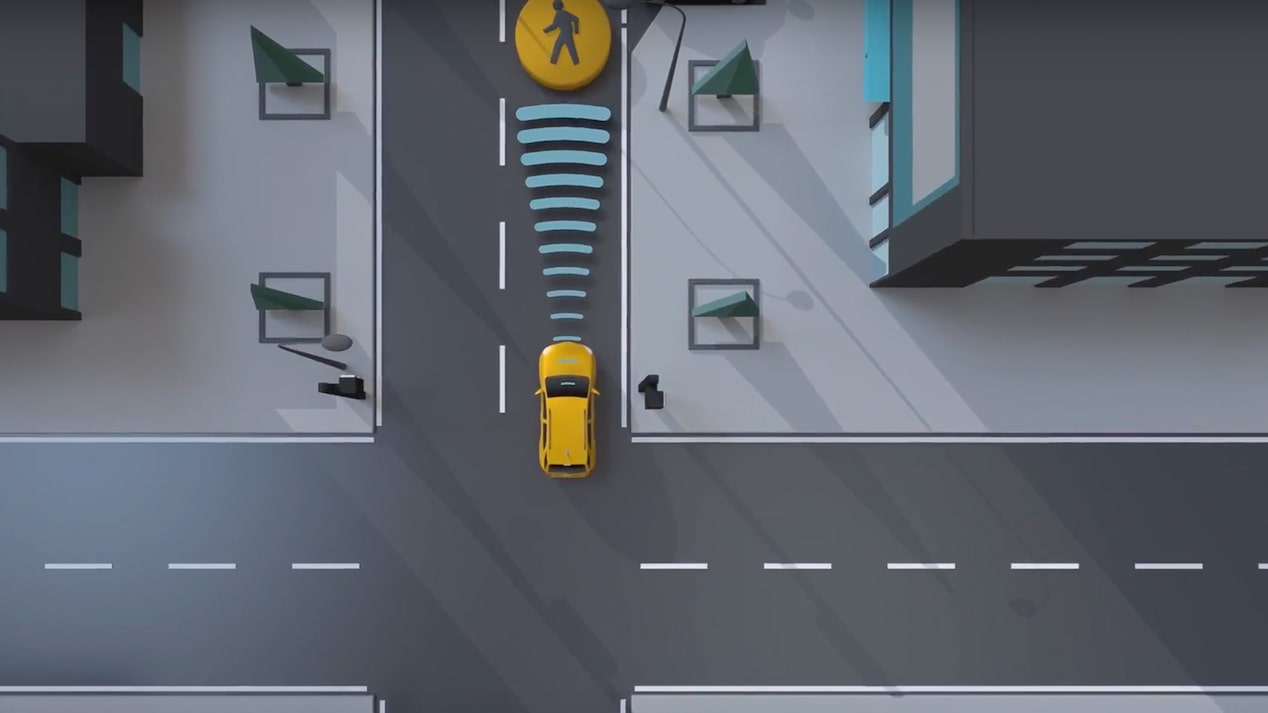 Safety: Front Pedestrian Braking video