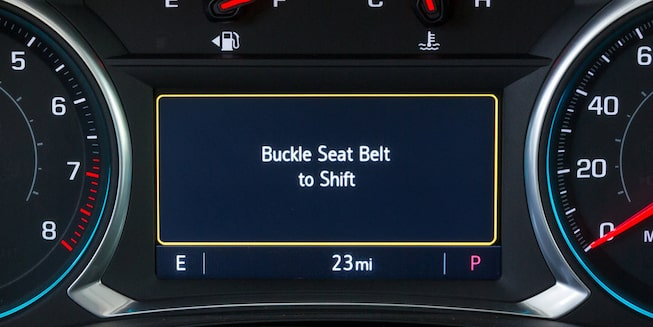 Chevrolet Teen Driver: Buckle to Drive