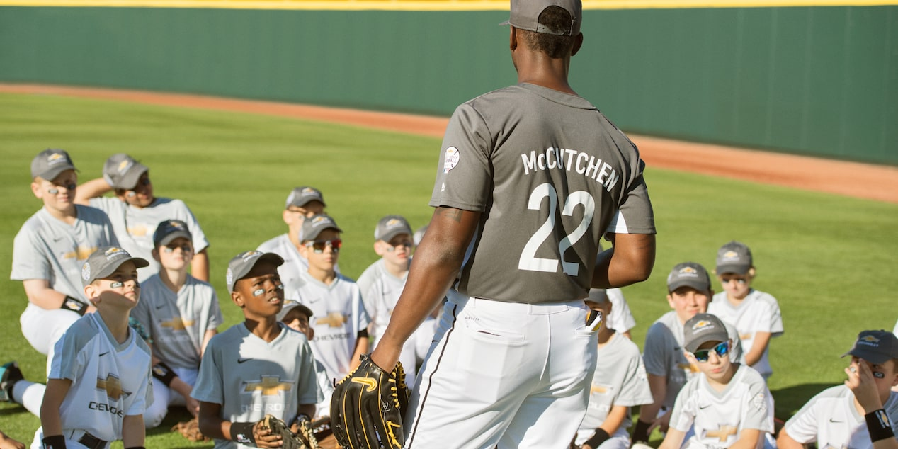 Chevy Youth Baseball: Andrew McCutchen 3