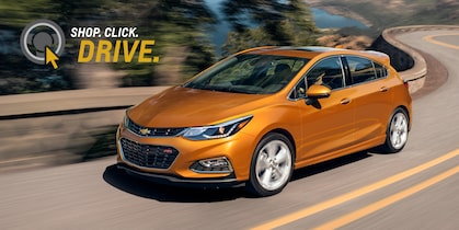 Chevrolet Homepage Click Drive