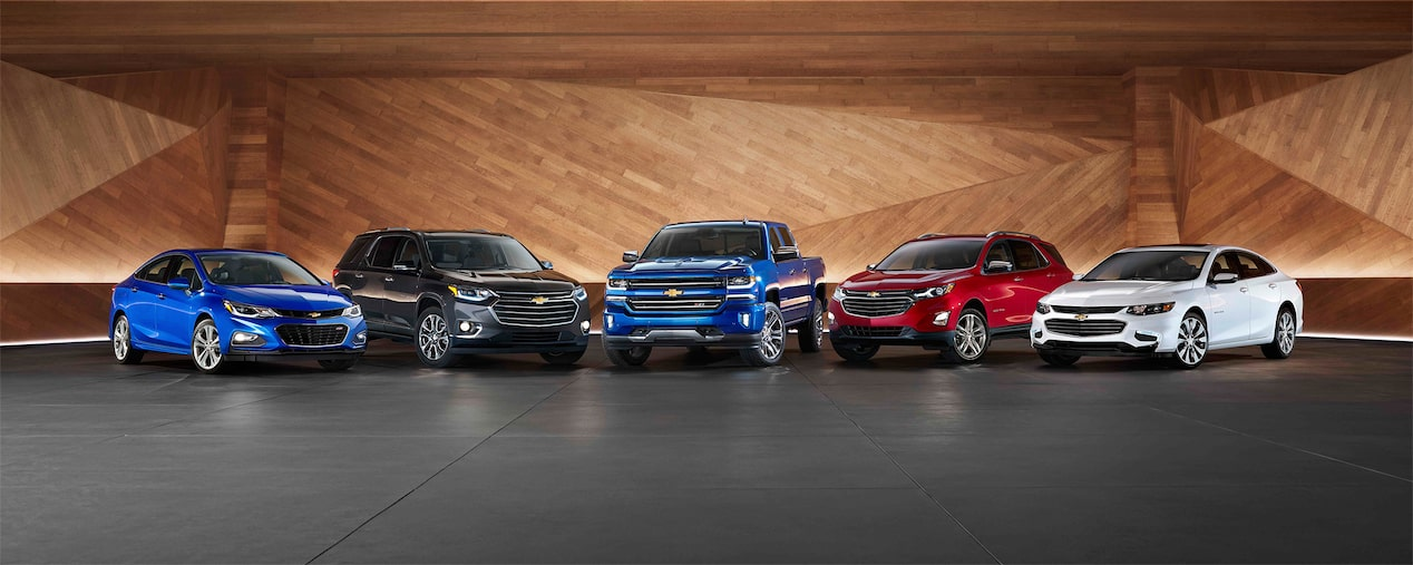 Chevrolet Homepage: Most Awarded