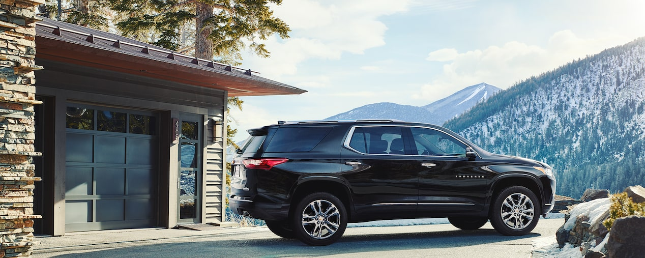 Chevrolet Homepage: Traverse
