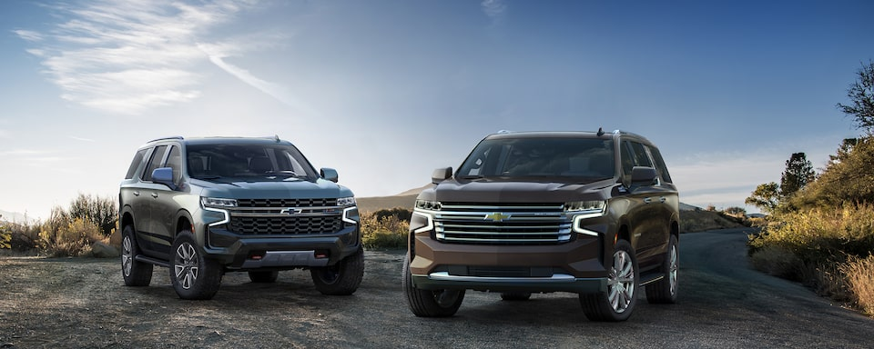 Explore the All-New Tahoe and Suburban