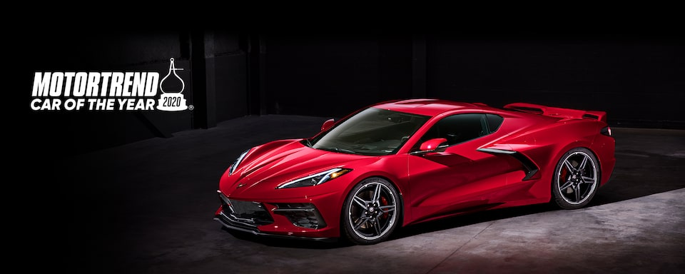 Chevrolet Homepage: 2020 Corvette Motortrend Car of the Year