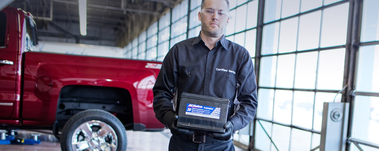 Car Battery Information and Offers from Chevrolet Certified Service