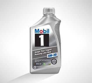 Mobil1 Full Synthetic Oil from Chevrolet Certified Service
