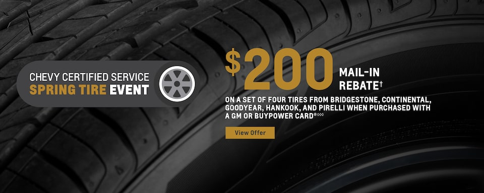 Tire Research and Safety Information from Chevrolet Certified Service