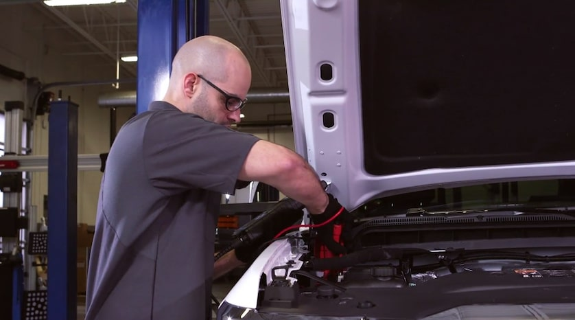 Bring your Vehicle to a Certified Service Dealer for a free Battery Test