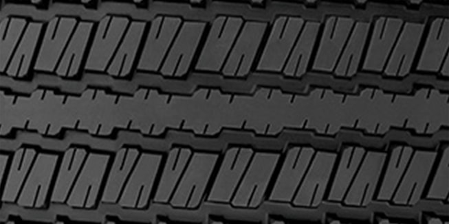All-Season Tire Tread Pattern