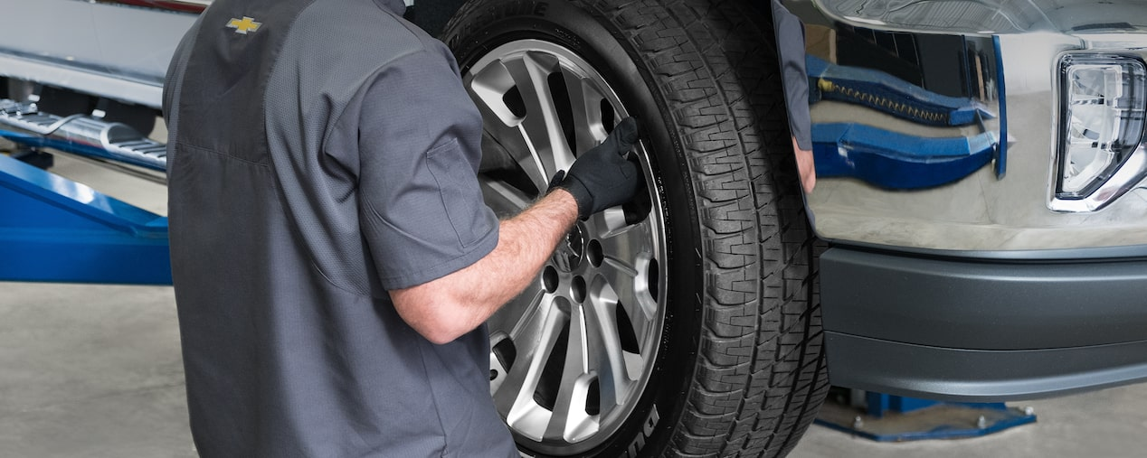 Wheel Alignment Machine >> Tire Rotation, Wheel Alignment, and Maintenance | Chevrolet Certified Service