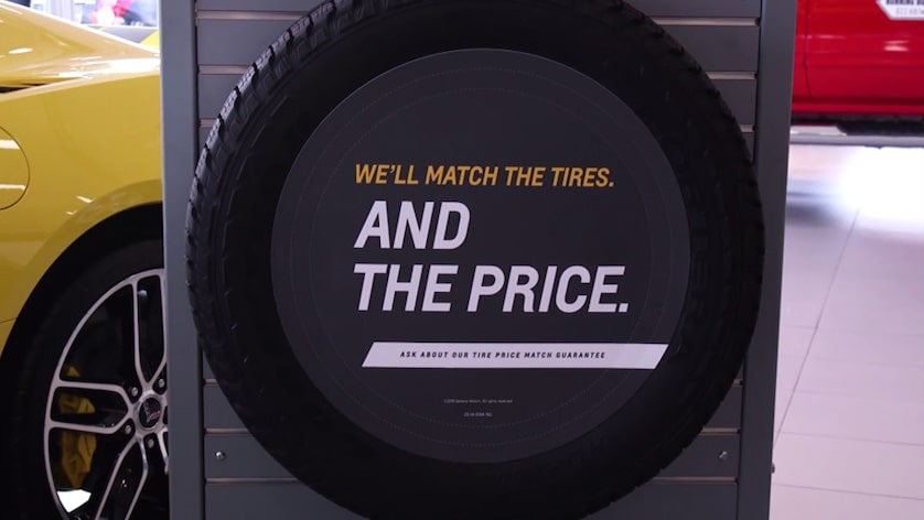 Types Of Tires Information Chevrolet Certified Service