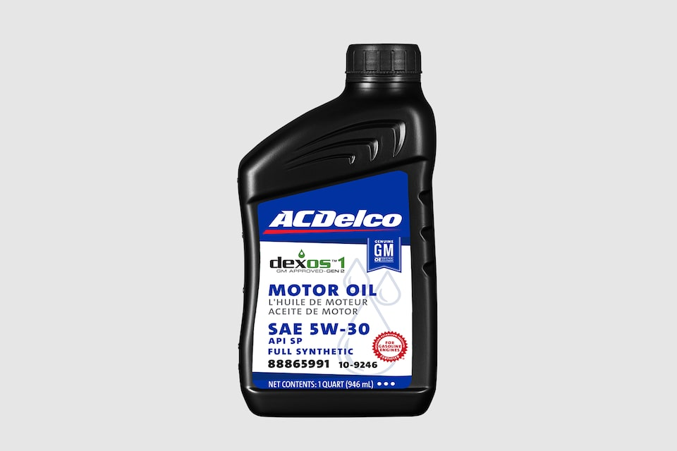 ACDelco dexos1 Full Synthetic Oil