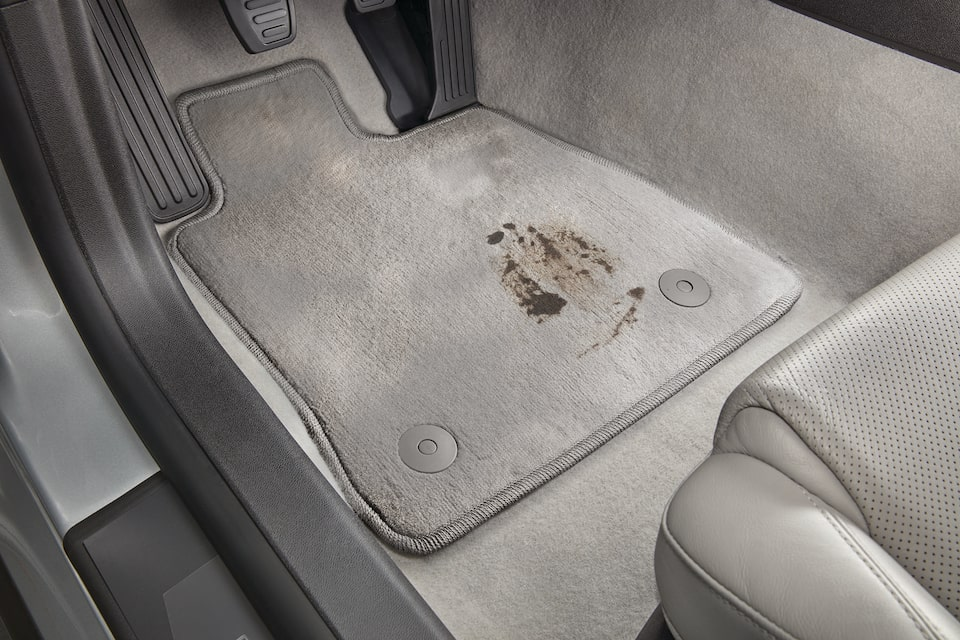 Permanent Stains In Vehicle