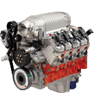 Chevy Performance LSX-Based 327 2.9L Supercharger V8