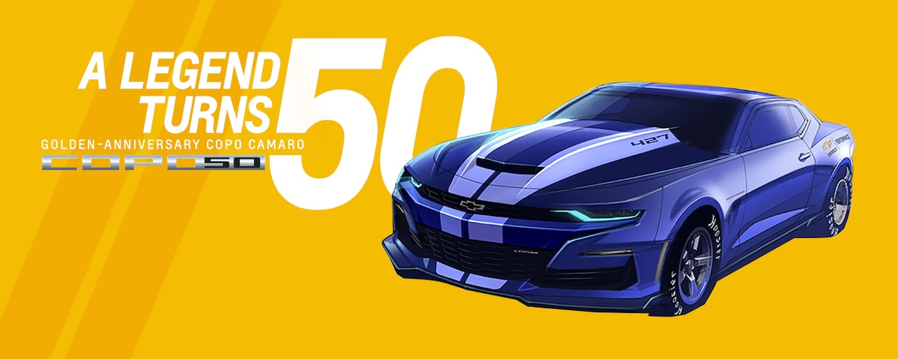 Chevrolet Performance COPO Camaro Golden Anniversary: A Legend Turns 50