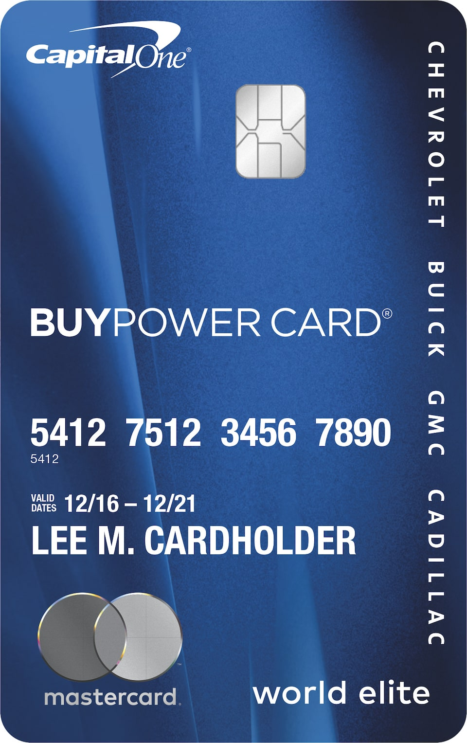 Apply for a BuyPower Card and earn points on every purchase toward a new Chevrolet, GMC, Buick, or Cadillac.