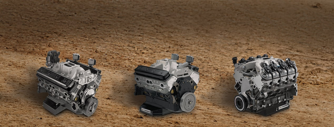 Chevrolet Performance Offers $150, $200, or $250 Mail-In Rebate On The Purchase Of An Eligible Circle Track Crate Engine.