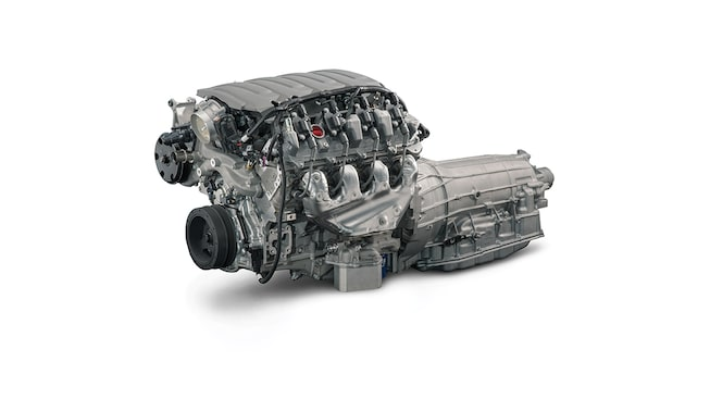 Chevrolet Performance LT1 6.2L Connect & Cruise Powertrain System with Automatic Transmission