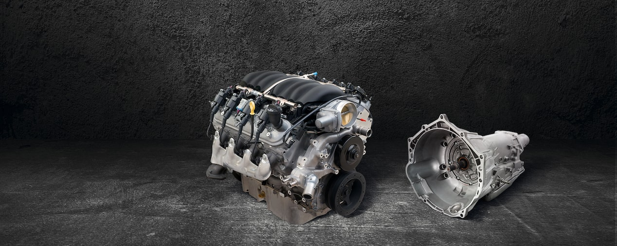 Chevrolet Performance LS3 Crate Engine and Hydra-Matic 4L65-E Automatic Transmission
