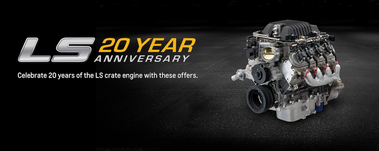 Chevrolet Performance Celebrates 20 Years Of The LS Crate Engine