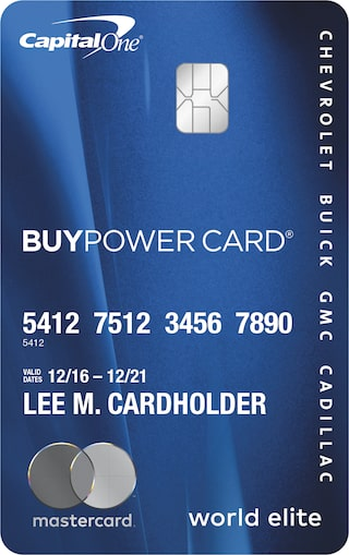 Apply For the GM BuyPower Card® and Get Rewarded With Earnings Toward a New Chevy, Buick, GMC, or Cadillac Vehicle