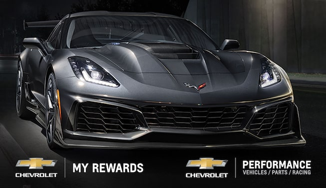 With My Chevrolet Rewards, earn and redeem points on new-vehicle purchases, paid service, and accessories at participating GM dealerships. Redeem points on Chevrolet Performance parts.