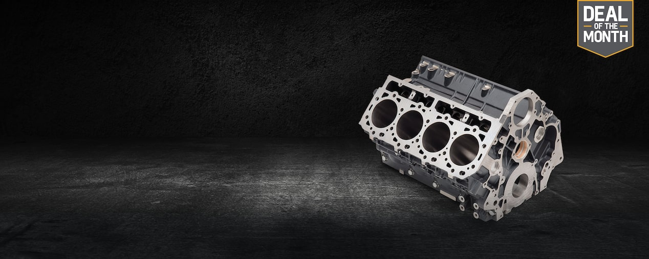 Get A $100 Mail-In Rebate On A Chevrolet Performance Duramax Diesel Engine Block For A Limited Time