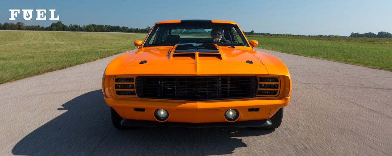 Chevrolet Performance Fuel Newsletter Features Rodney Moore's LSX-powered 1969 Camaro Build