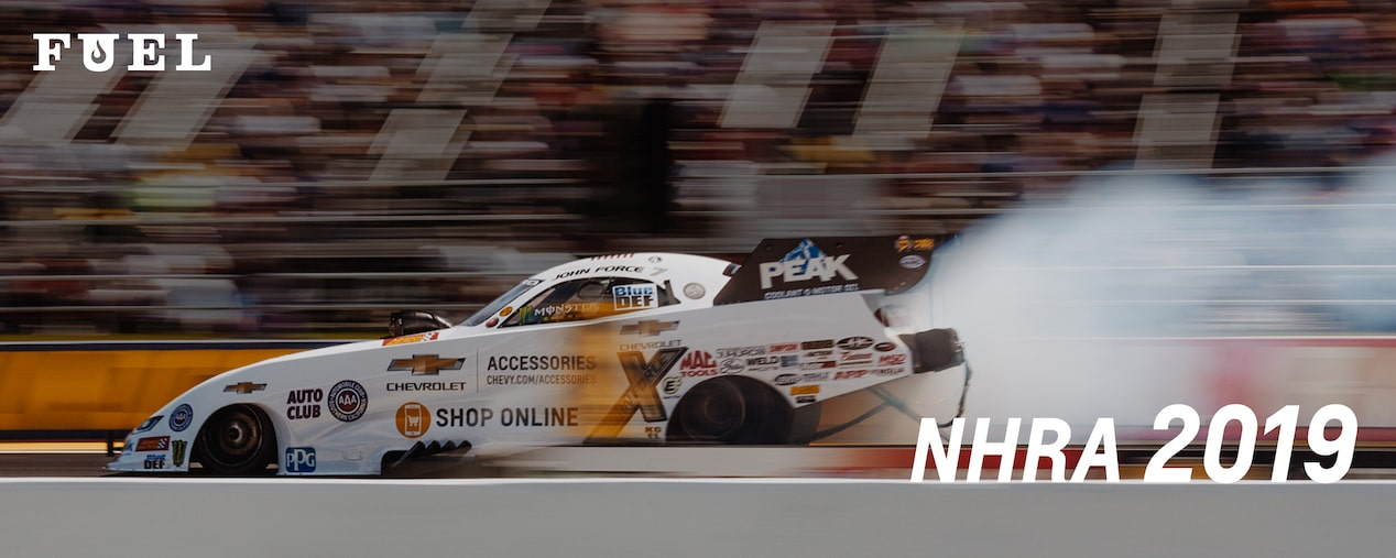 Chevrolet Performance Fuel Newsletter Features High-Octane Action With NHRA 2019 and John Force Racing