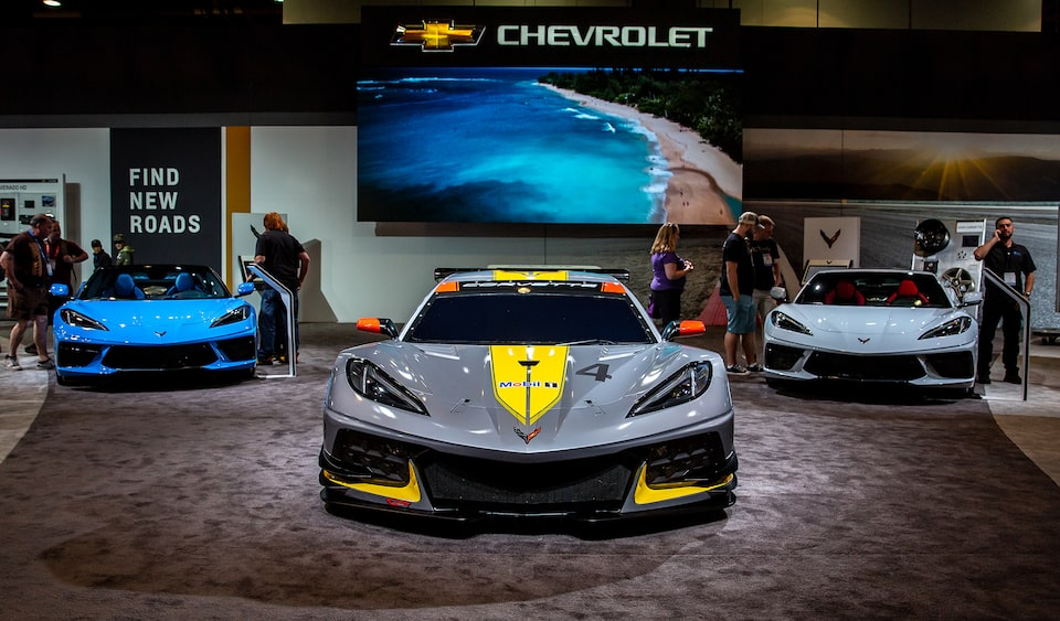 2020 Chevrolet Corvette Lineup at SEMA Show