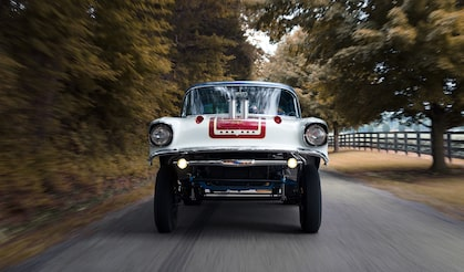 Chevrolet Performance Features A Look Back At The 1957 Big Block Gasser Built By Woody's Hot Rodz. See What You're Missing.
