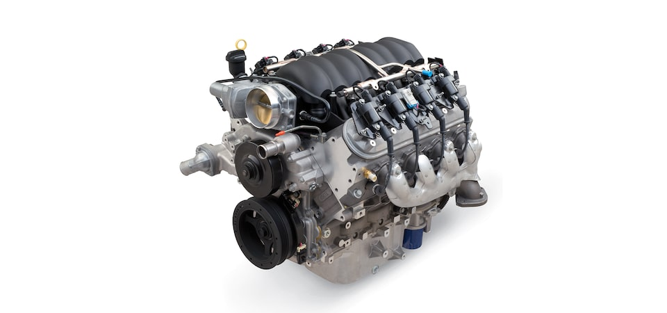 Chevrolet Performance Highlights The Naturally Aspirated 525 HP LS376/525 Street Crate Engine Part No.19369338.