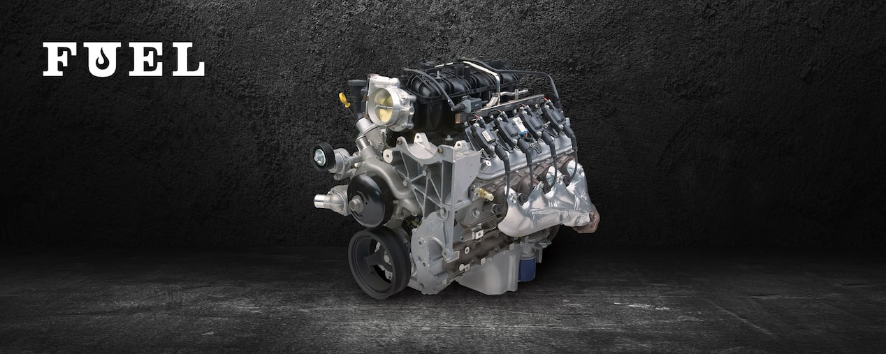 Chevrolet Performance L96 Crate Engine For Late-Model And Vintage Trucks